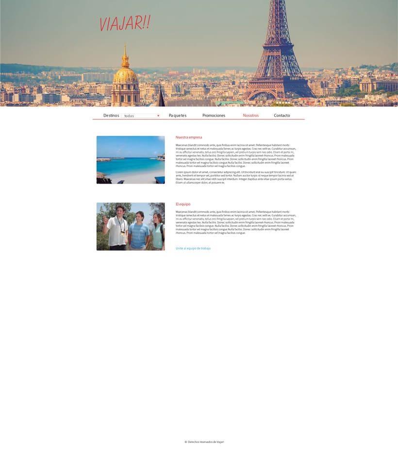 Agencia de viajes 4