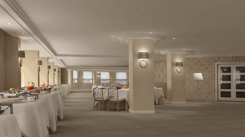 renders interiores hotel bah a santander domestika