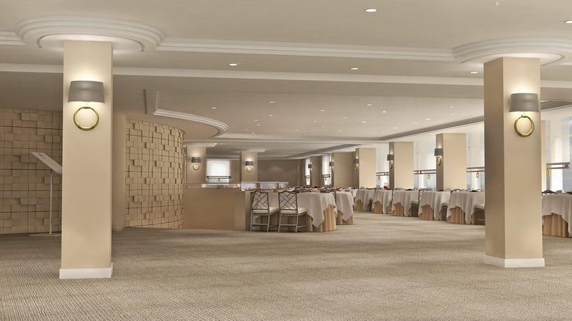 Renders Interiores Hotel Bahía. Santander 15