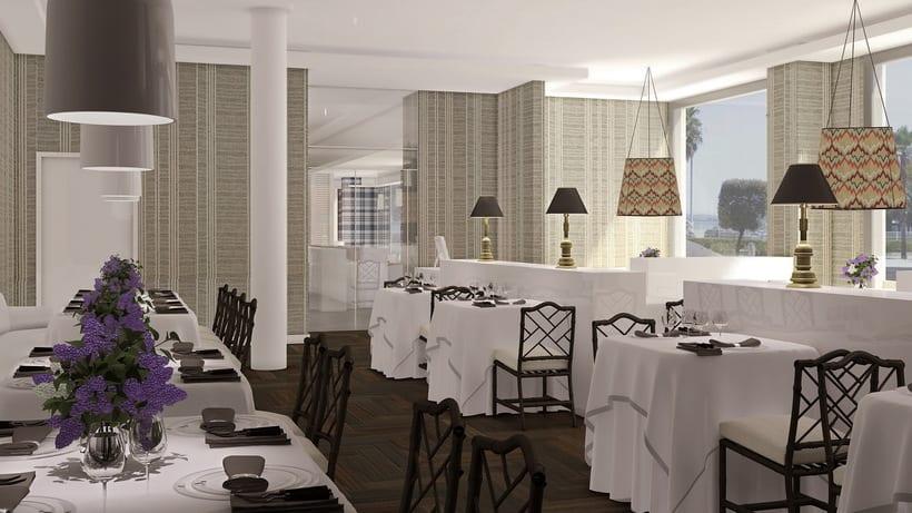 Renders Interiores Hotel Bahía. Santander 17