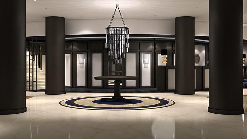 Renders Interiores Hotel Bahía. Santander 14
