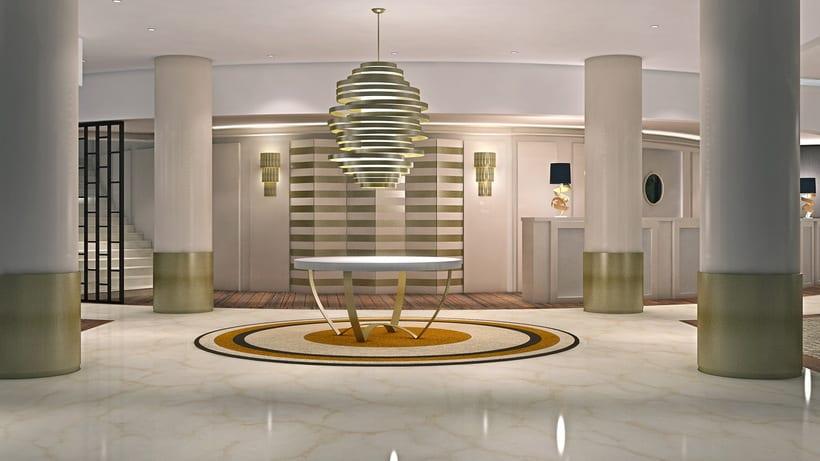 Renders Interiores Hotel Bahía. Santander 13
