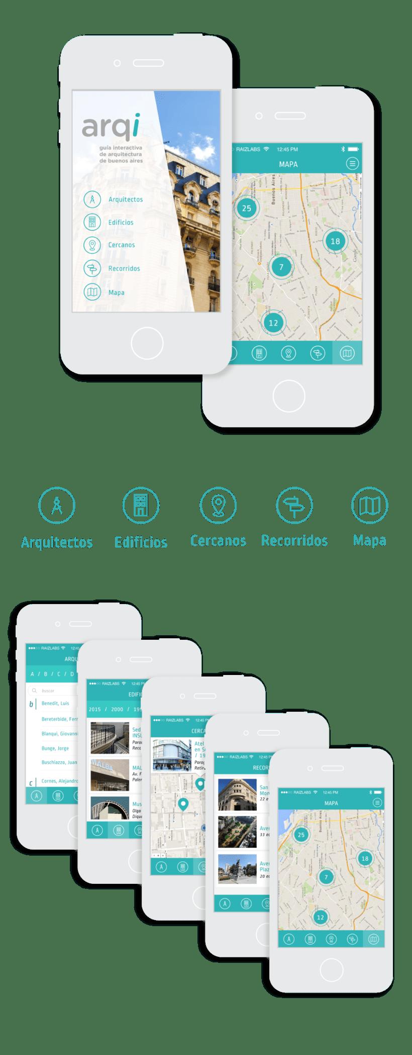 App Mobile para museo de arquitectura MARQ 1