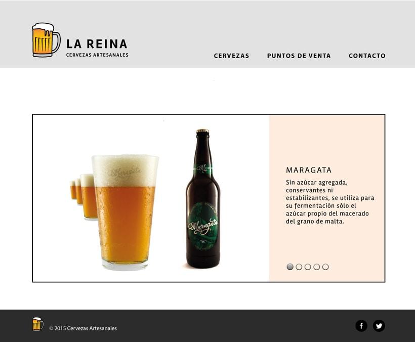 Diseño de interfaz - Cervezas artesanales 0