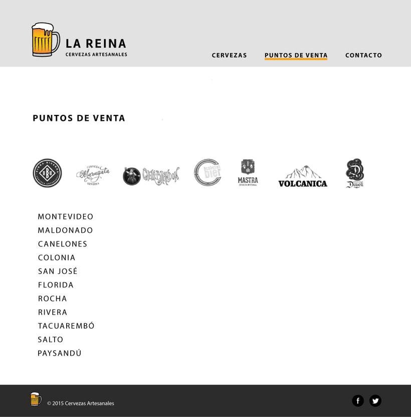 Diseño de interfaz - Cervezas artesanales 3