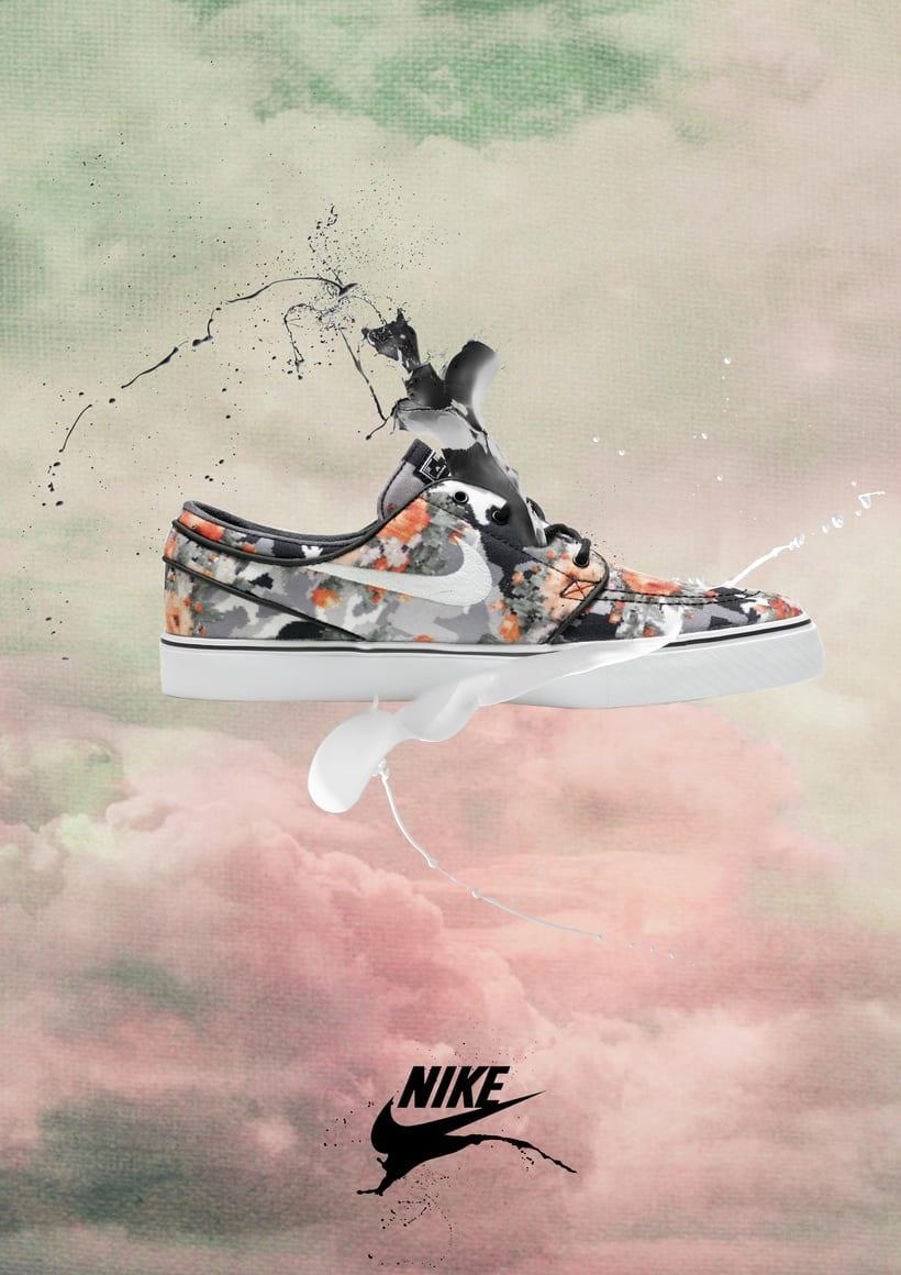 Nike y el Renacimiento. Pieza gráfica. 0