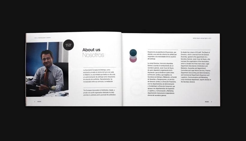 Annual report 2012 - AEADE 4