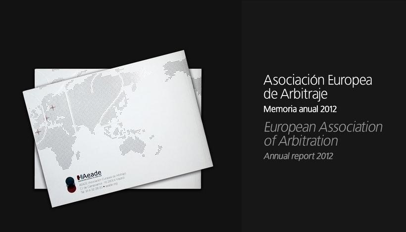 Annual report 2012 - AEADE 11