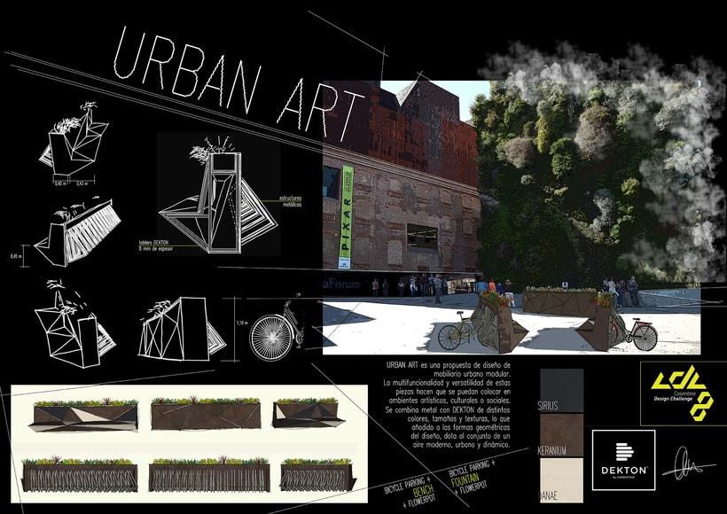 Urban Art. Proyecto FINALISTA de COSENTINO DESIGN CHALLENGE 8 2014 en la categoría de diseño 0