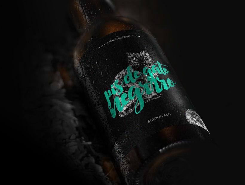 Pis de Gato Negro Beer 1