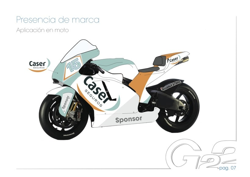 Dossier G22, Caser Moto2 Racing Team 4