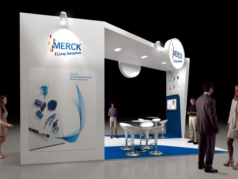 Diseño de Stand Merck Bio Spain, Alergias y Hospitality  3