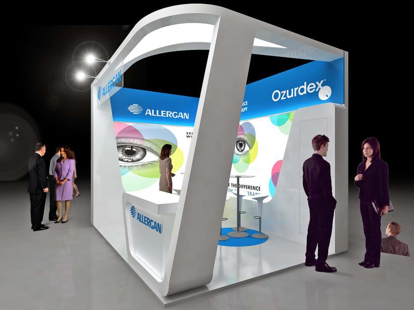 Diseño Stand Allergan -1