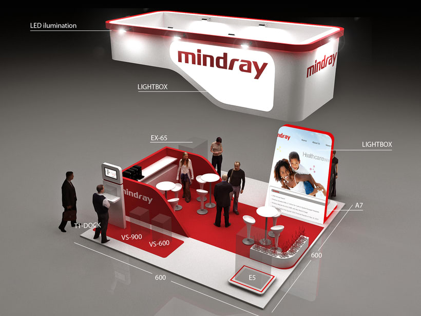 Stands Mindray Propet e  Internacional 2