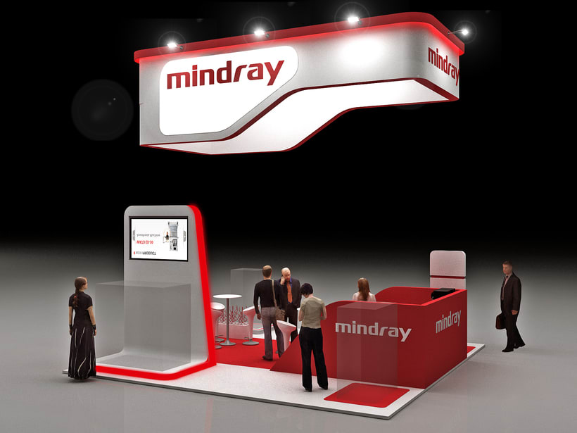 Stands Mindray Propet e  Internacional 3