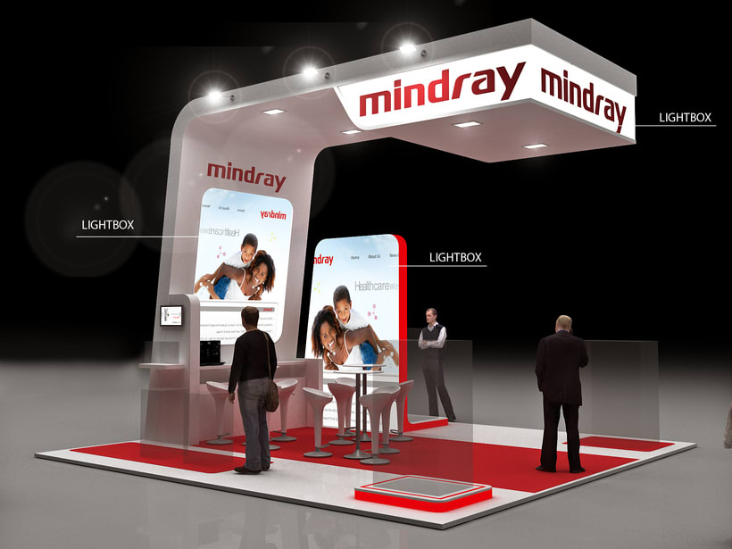 Stands Mindray Propet e  Internacional 0