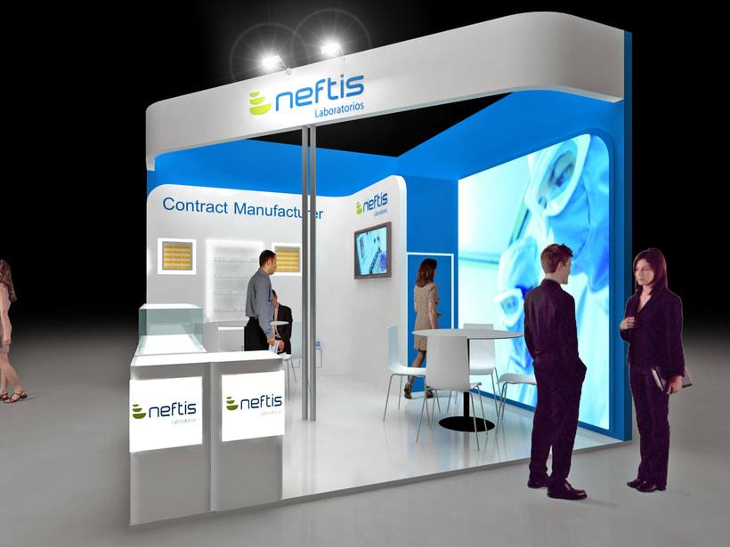 Diseño Stand Neftis -1