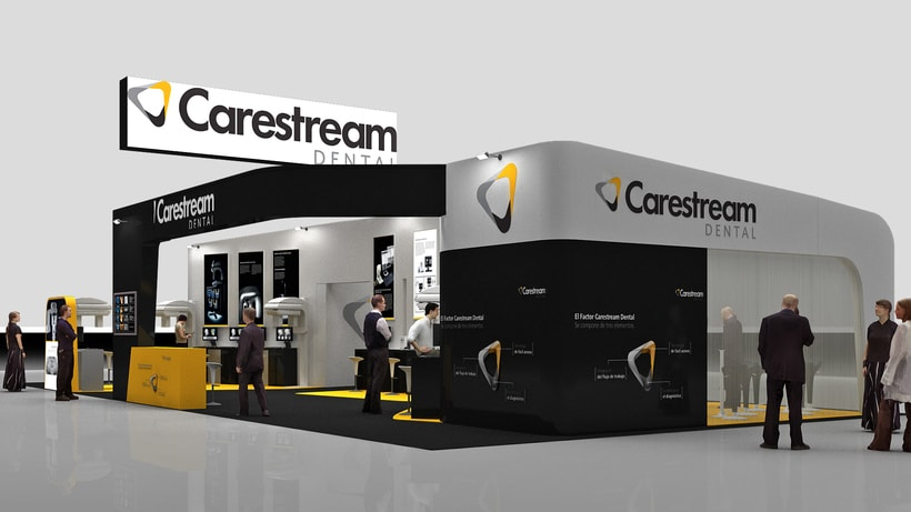Diseño Stand Carestream 1