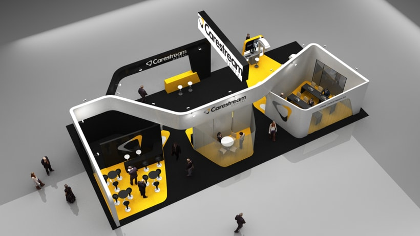 Diseño Stand Carestream 0