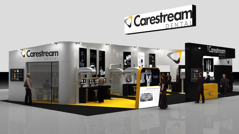 Diseño Stand Carestream 3