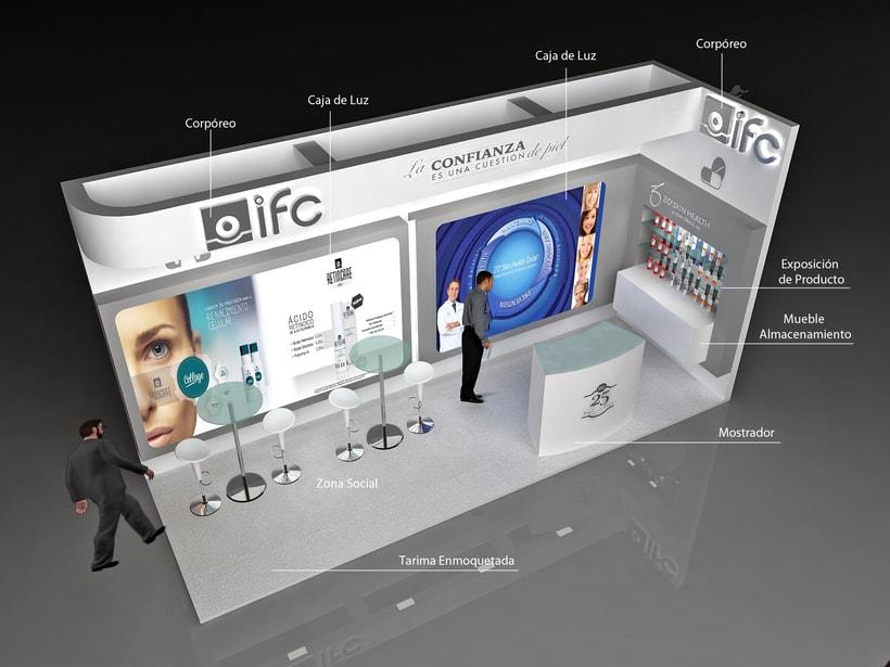 Diseño de Stands IFC 1