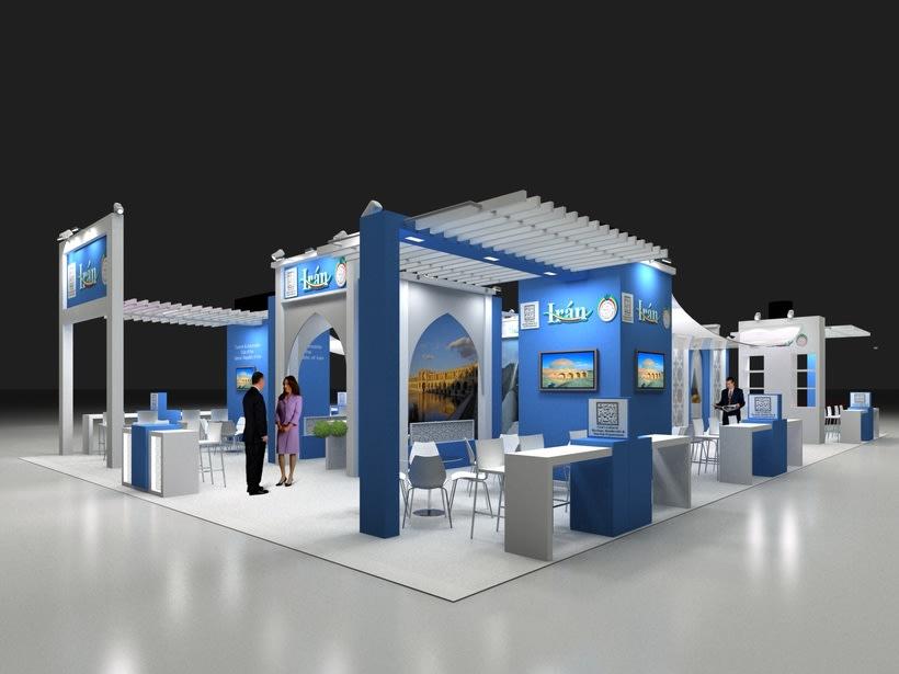Diseño Stand Iran Fitur 2014 -1