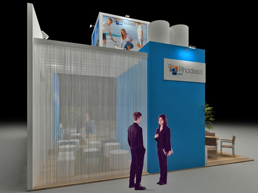 Diseño Stand Sehrs Fitur 2014 2