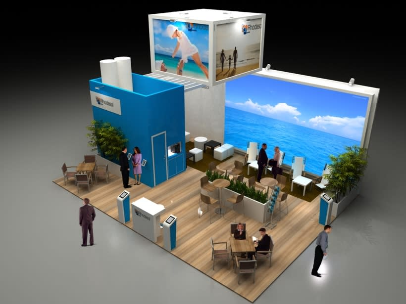 Diseño Stand Sehrs Fitur 2014 1