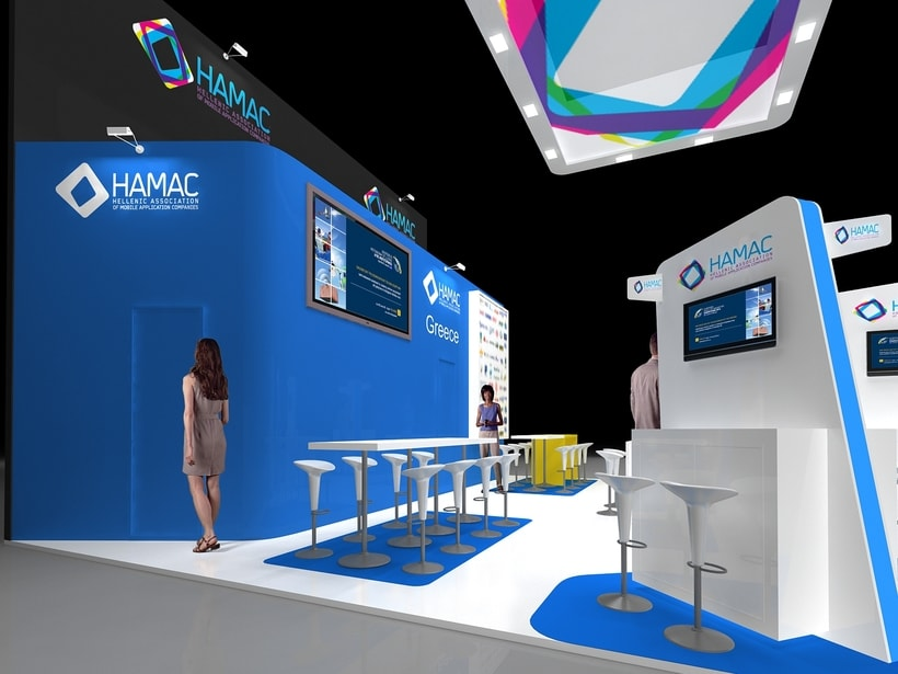 Diseño Stand Hamac (Mobile Word Congress) 1
