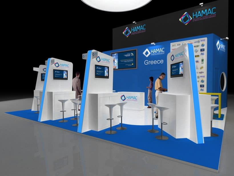 Diseño Stand Hamac (Mobile Word Congress) 0