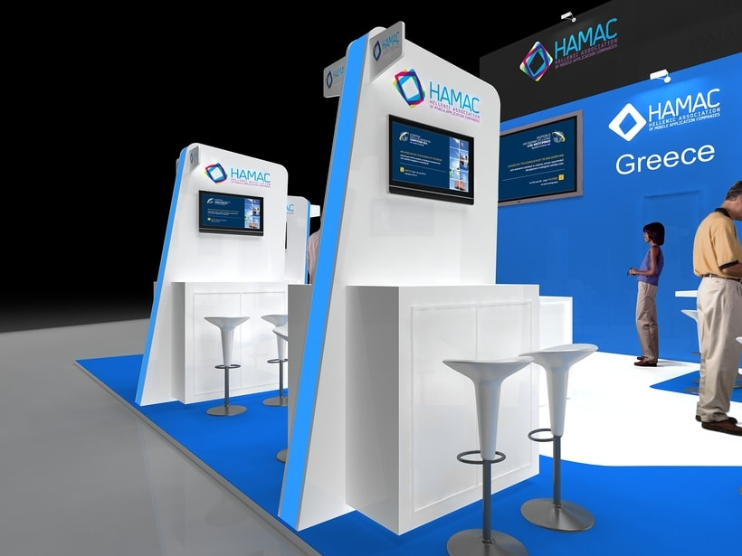Diseño Stand Hamac (Mobile Word Congress) 2