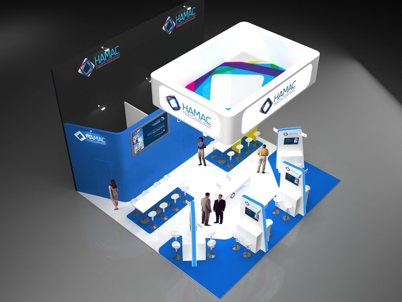Diseño Stand Hamac (Mobile Word Congress) 3