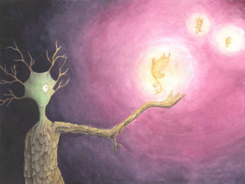 Criatura árbol -1