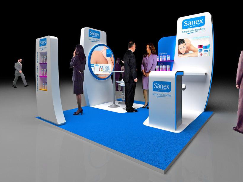 Corner Exposición de Producto. Sanex Colgate 0