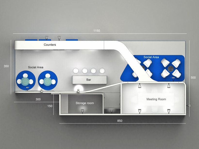 Diseño Stand TAV 4