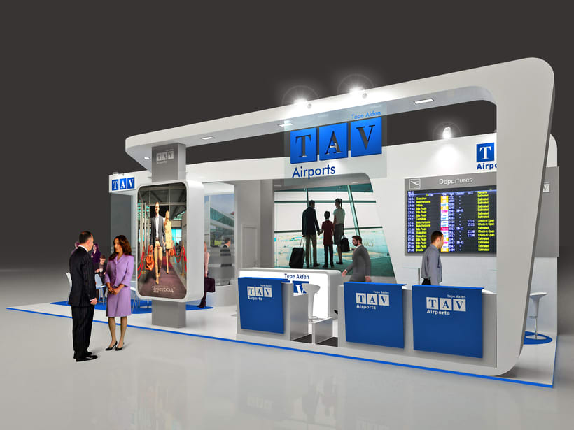 Diseño Stand TAV 0