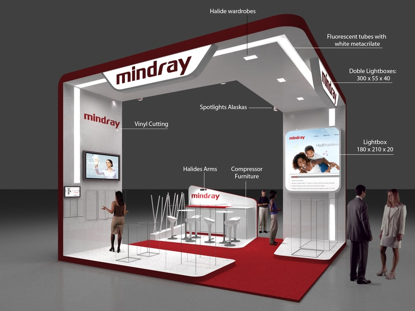 Diseño Stand Mindray (Esicm) 1