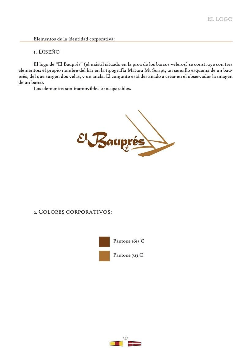 El Bauprés: Imagen corporativa 4