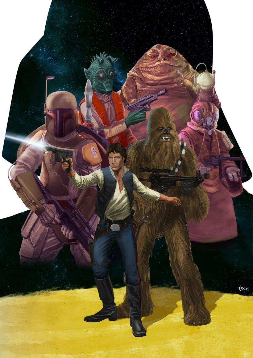 Han y Chewie -1