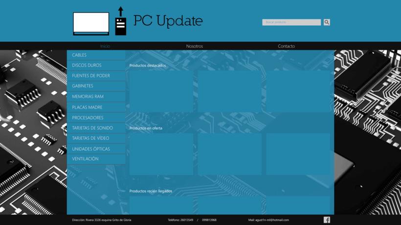 Diseño sitio PC Update 0