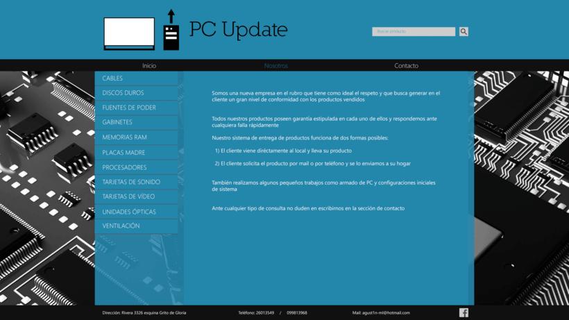 Diseño sitio PC Update 4