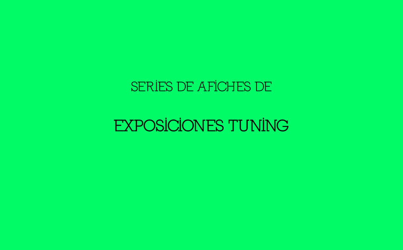 Afiches EXPO TUNING -1