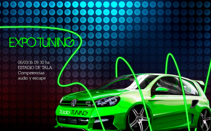 Afiches EXPO TUNING 0