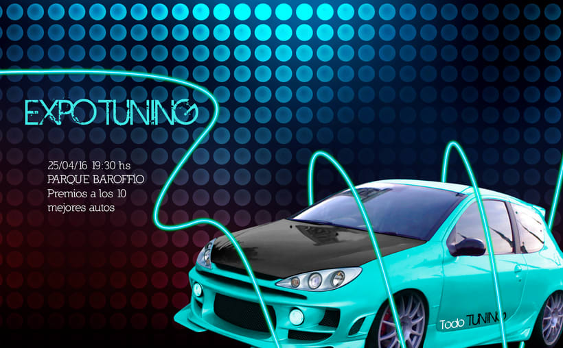 Afiches EXPO TUNING 1