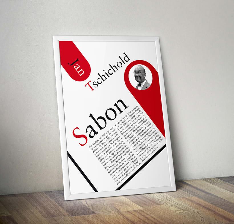 Póster Sabon 0