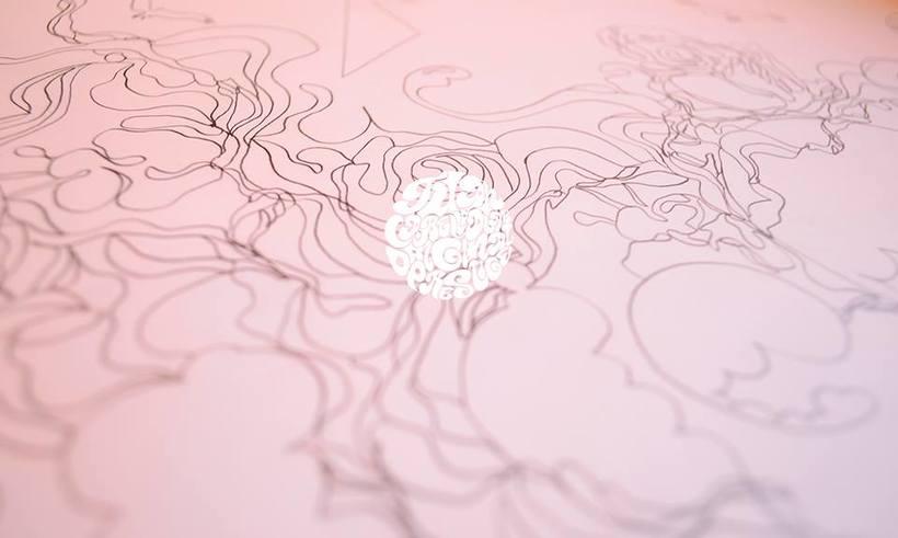 Naturalizate (Ilustración 40 METROS dibujados a mano alzada) 2