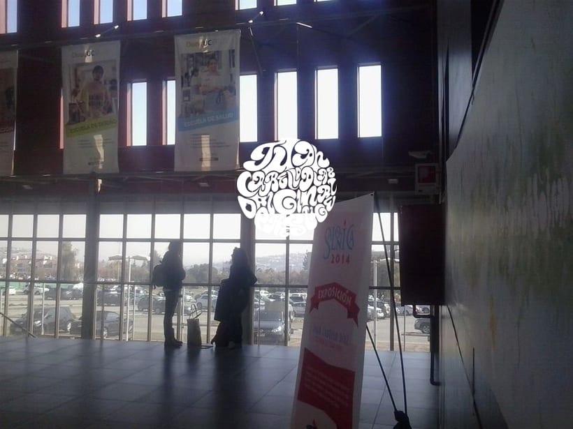 """Exposición en Salonica """" Ilustración digital Celebrate"""" 1"""
