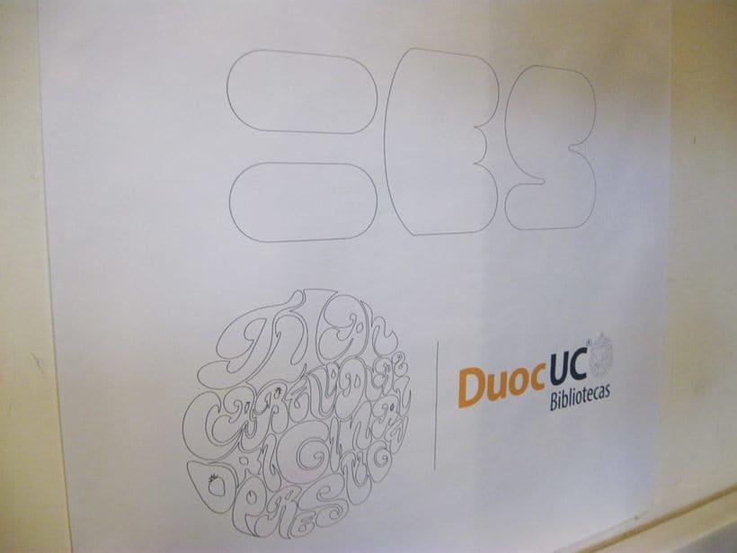 """Exposición """"Iguales"""" Auspiciado por Duoc UC Biblioteca, Sede Plaza Norte, 2015. 7"""