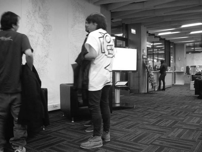 """Exposición """"Iguales"""" Auspiciado por Duoc UC Biblioteca, Sede Plaza Norte, 2015. 14"""