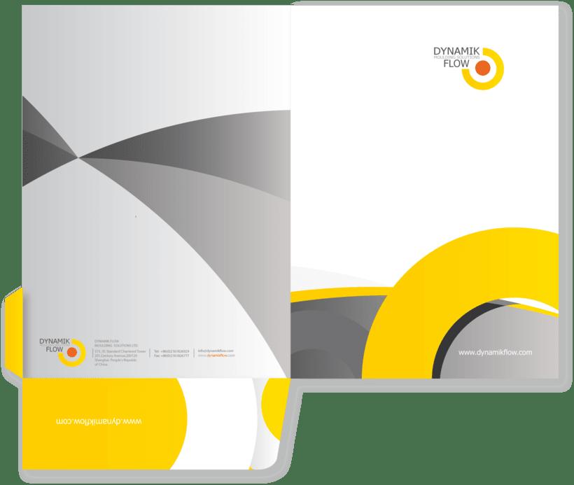 """Proyecto desarrollo de la MARCA:  """" DYNAMIK FLOW moulding solutions"""" 0"""